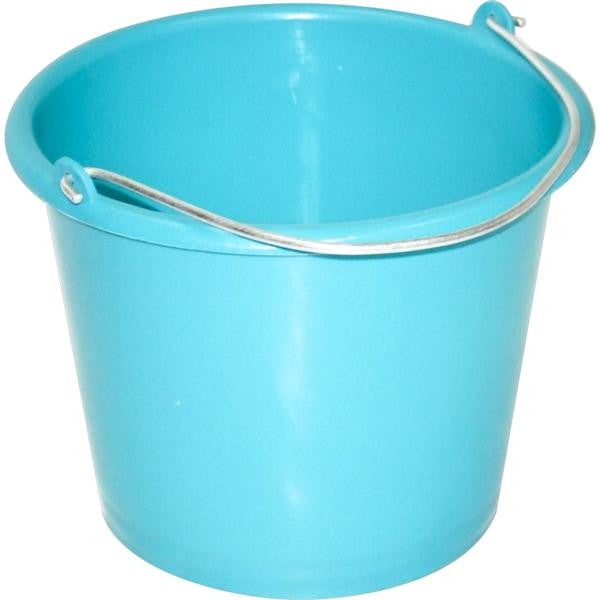 13lt BUCKET TEAL
