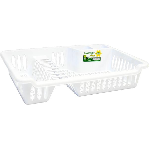 SML VOILET DISH DRAINER & TRAY