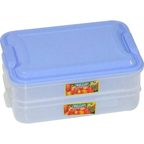 LUNCH BOX DBL RACK