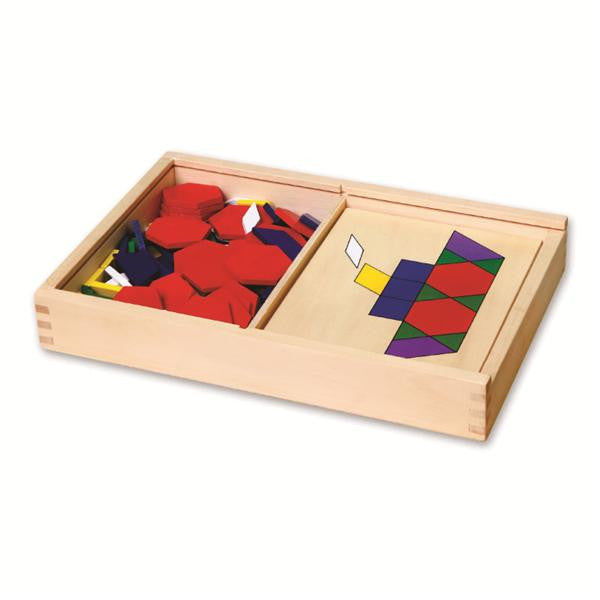 PATTERN BOARD AND BLOCKS
