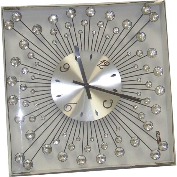 DIAMANTE CLOCK 1105