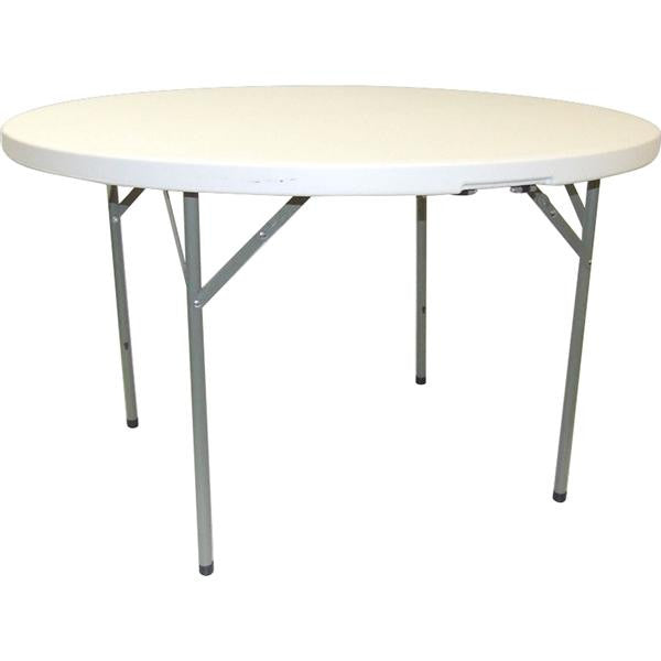 RND TABLE 6 SEATER 122x74cm