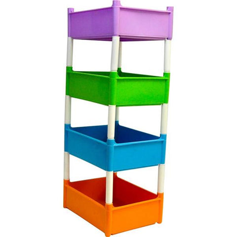 JOLLY 4 TIER STACK & CADDY TROP COL