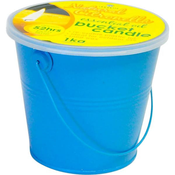900g BUCKET CANDLES GRN