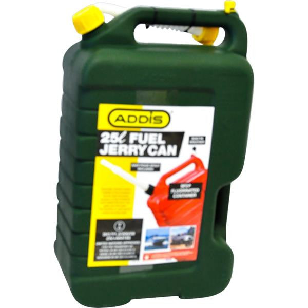 25lt JERRY CAN GRN