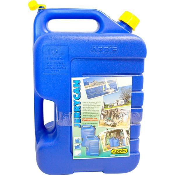 15lt JERRY CAN BL