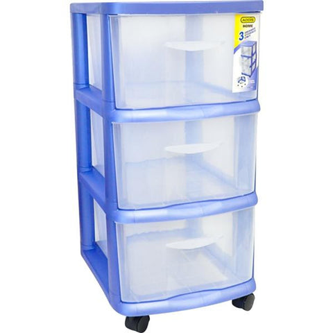 3 DRAW STORAGE UNIT BL