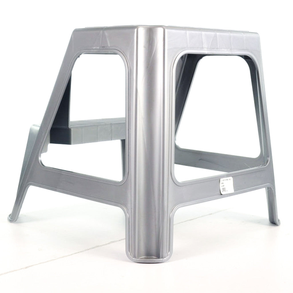 mini storage life style solutions utility chrome step polder stool products
