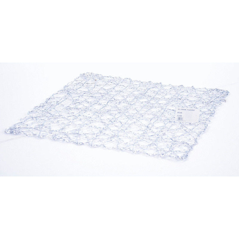 SQ STRING PLACEMAT SIL 36x36
