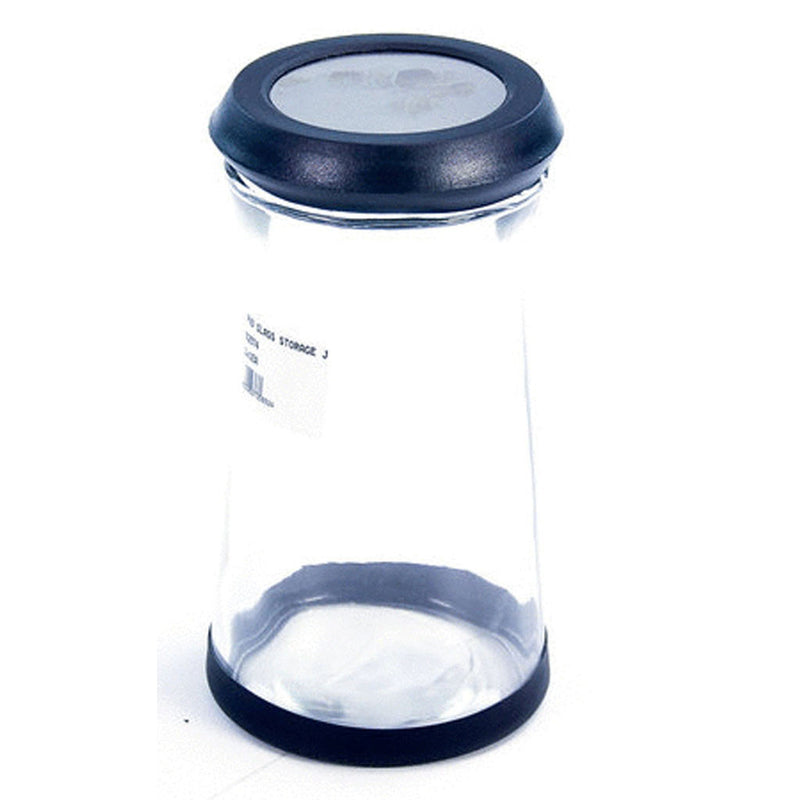 RND GLASS STORAGE JAR 1lt