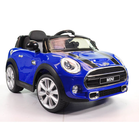 Ride on Car Mini Cooper Blue