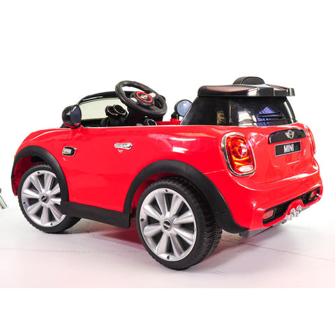 Ride on Car Mini Cooper Red