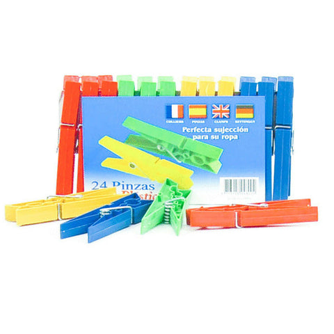 PLASTIC COL PEG 24pc