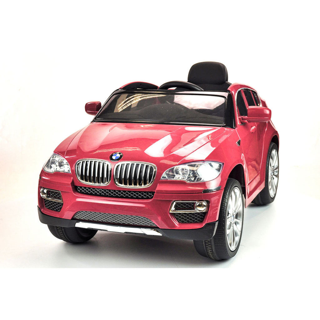BMW X6 RIDE ON RED