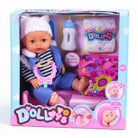 "16"" BABY DOLL & SOUNDS"