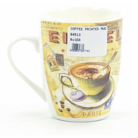COFFEE PRINTED MUG