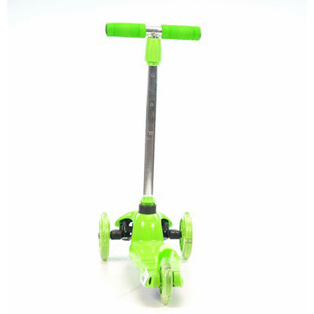 KIDS ADJUSTABLE SCOOTER GRN
