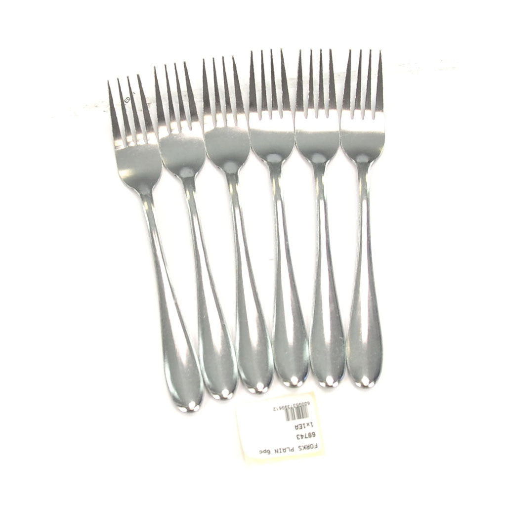 FORKS PLAIN 6pc