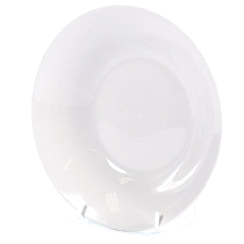 SUPER WHT SOUP PLATE