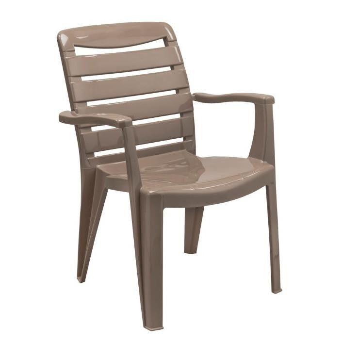 MIA HIGH BACK CHAIR CAPPUCCINO