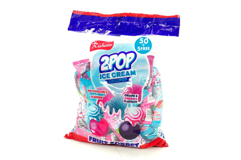 2 POP FRUIT SORBET