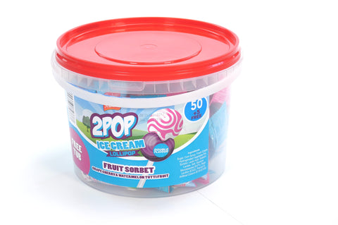 2 POP FRUIT SORBET TUB