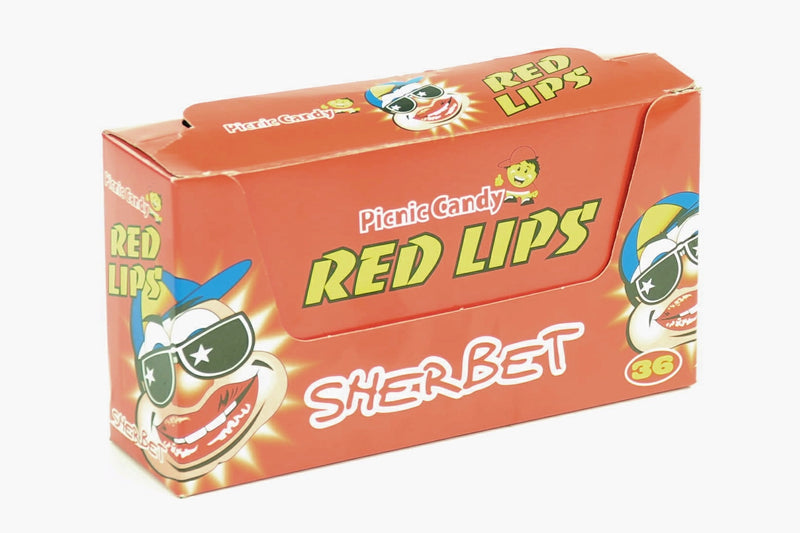 PICNIC CANDY SHERBERT RED 36g