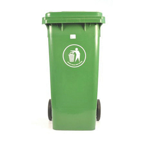 WASTE CONT 120lt GRN
