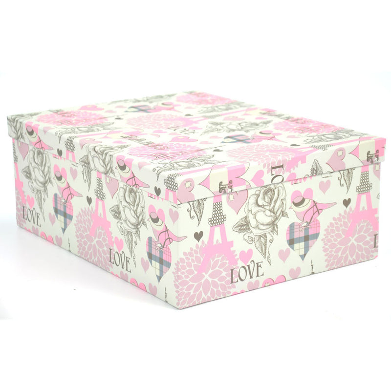 RECT BOX SET FLOWER