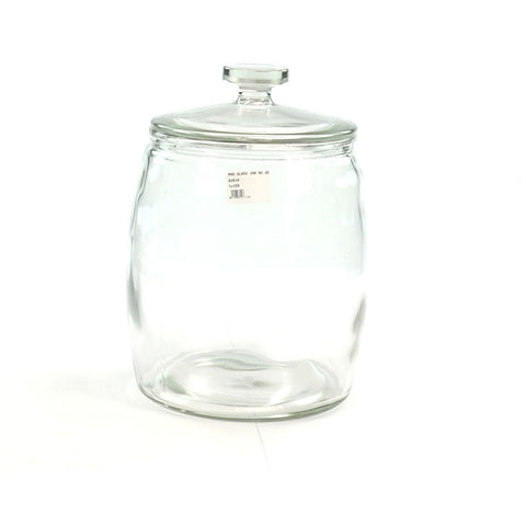 RND GLASS JAR NO SEAL 9lt