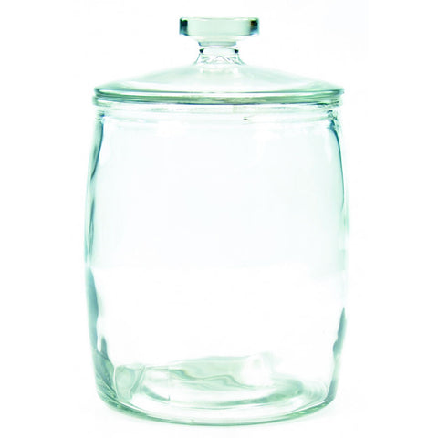RND GLASS JAR NO SEAL 7lt
