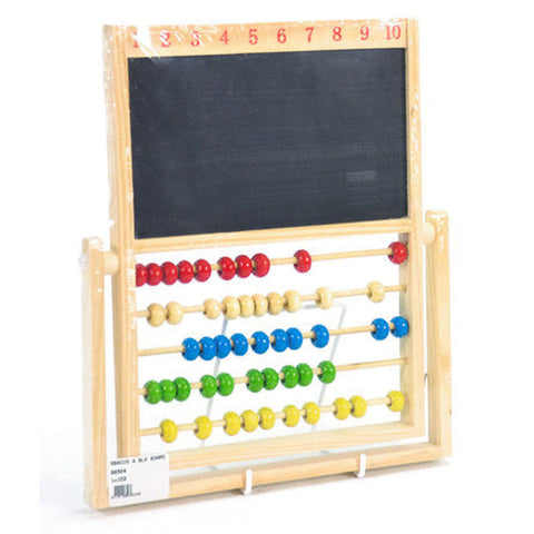 ABACUS & BLK BOARD WOOD