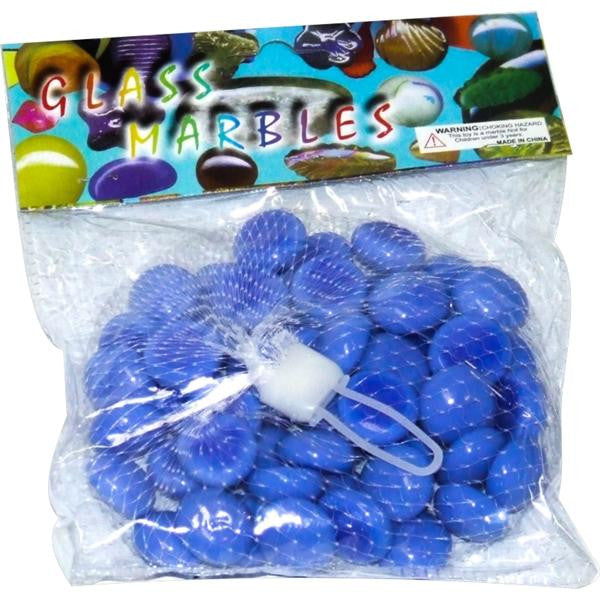 50pc MARBLES FLAT 17mm