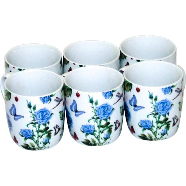 MUG SHAPE BUTTERFLY & ROSE SHAPES
