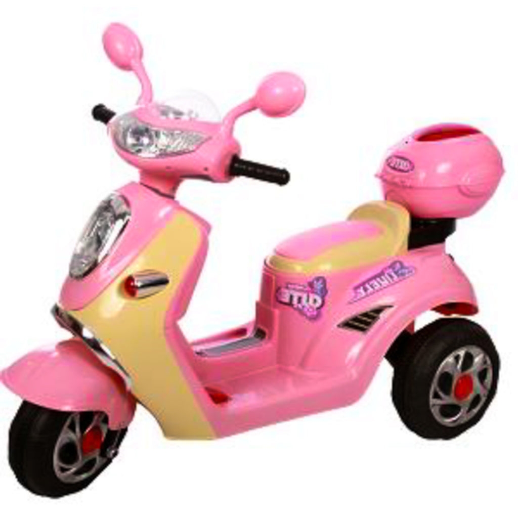 Ride on Car Scooter Pink