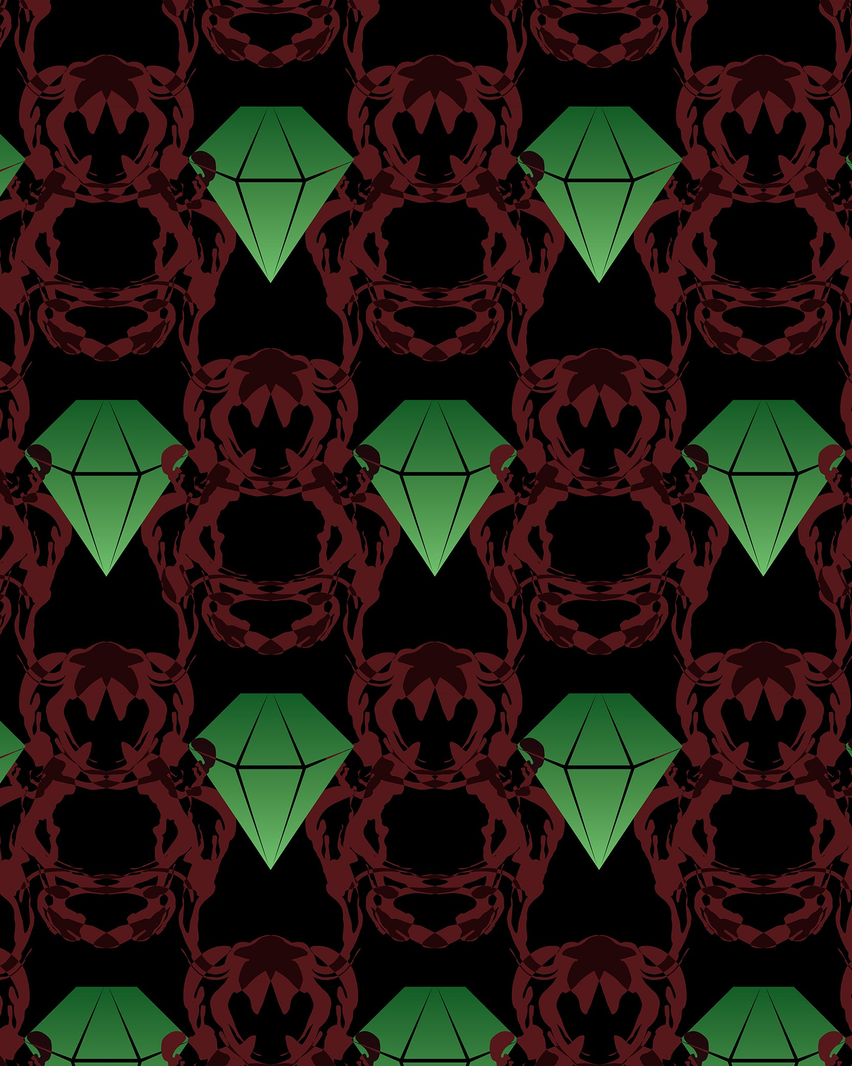 Emeralds & Demons [BLACK]