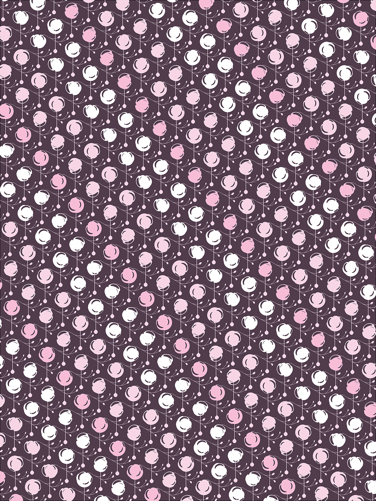 Forest Pattern ~ Cherry Blossom Variant