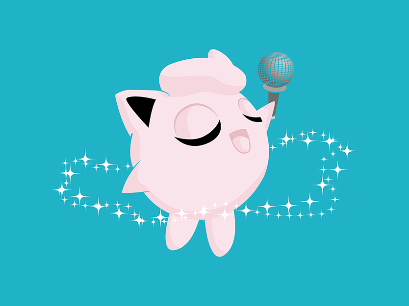 Pokemon - #39 JIGGLYPUFF