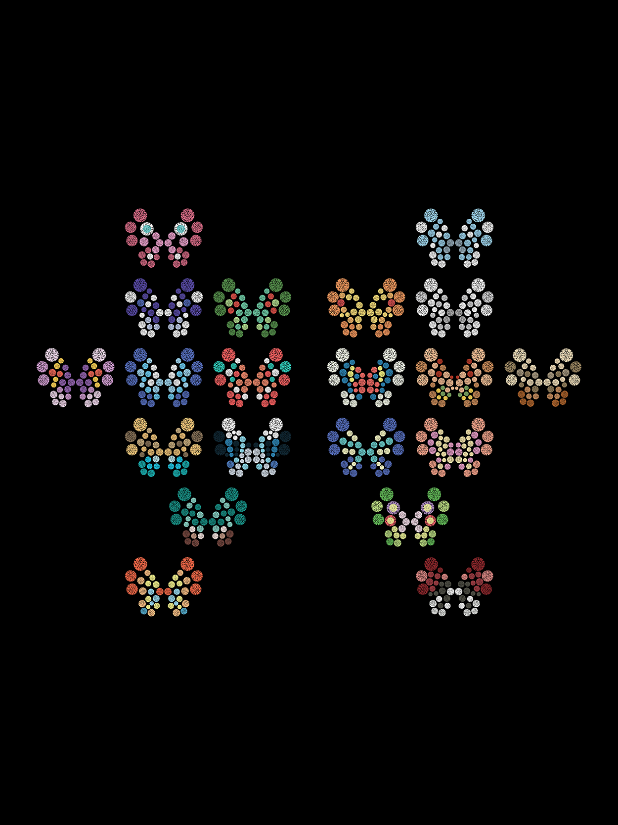 POKEMON - Vivillon Pattern