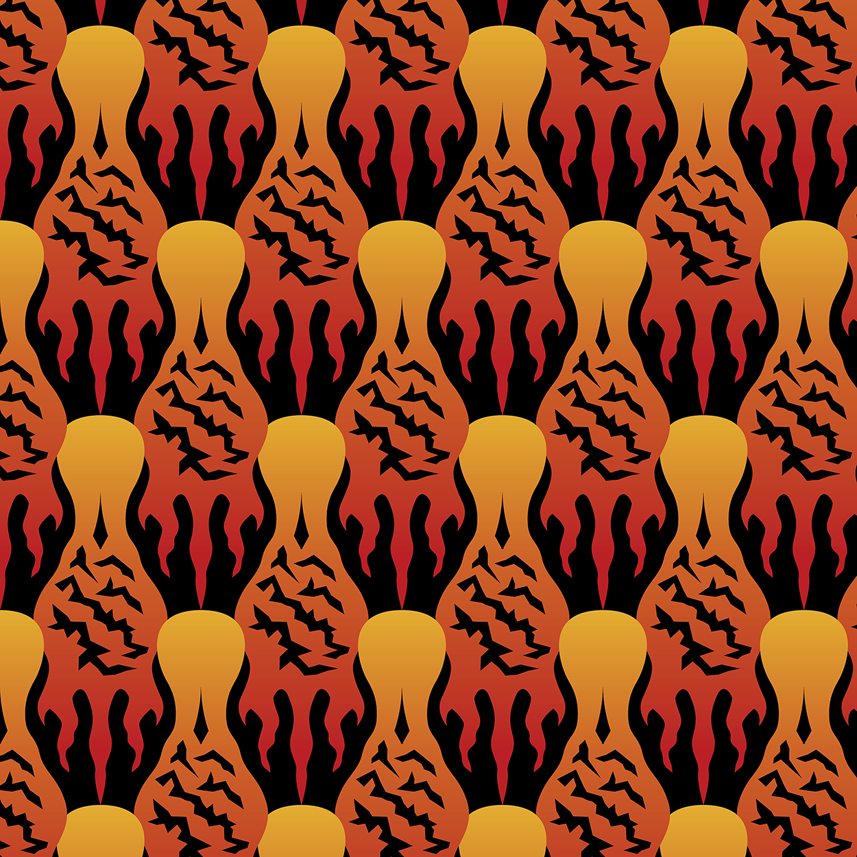 SCORCH Pattern [BLACK]