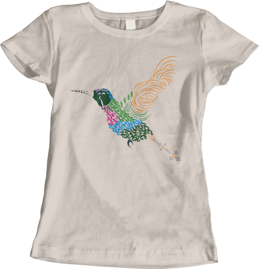 Abstract Hummingbird ~ GARNET-THROATED VAR [Women's] Thumbnail