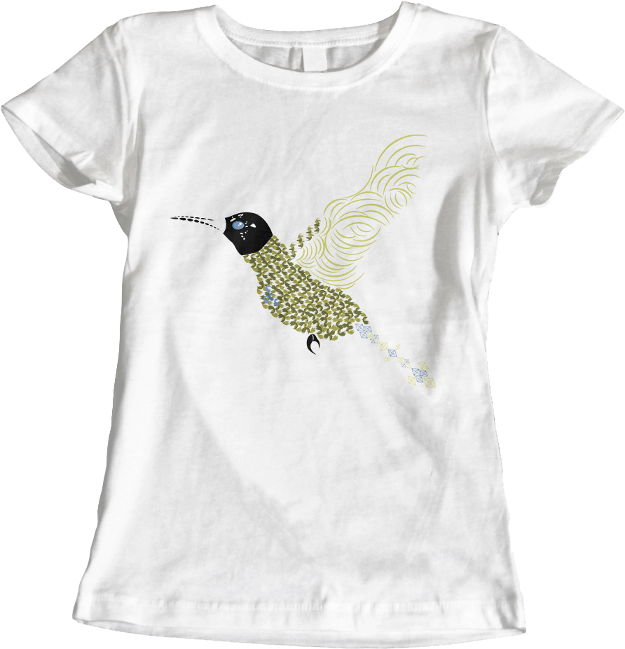 Abstract Hummingbird [Women's] Thumbnail