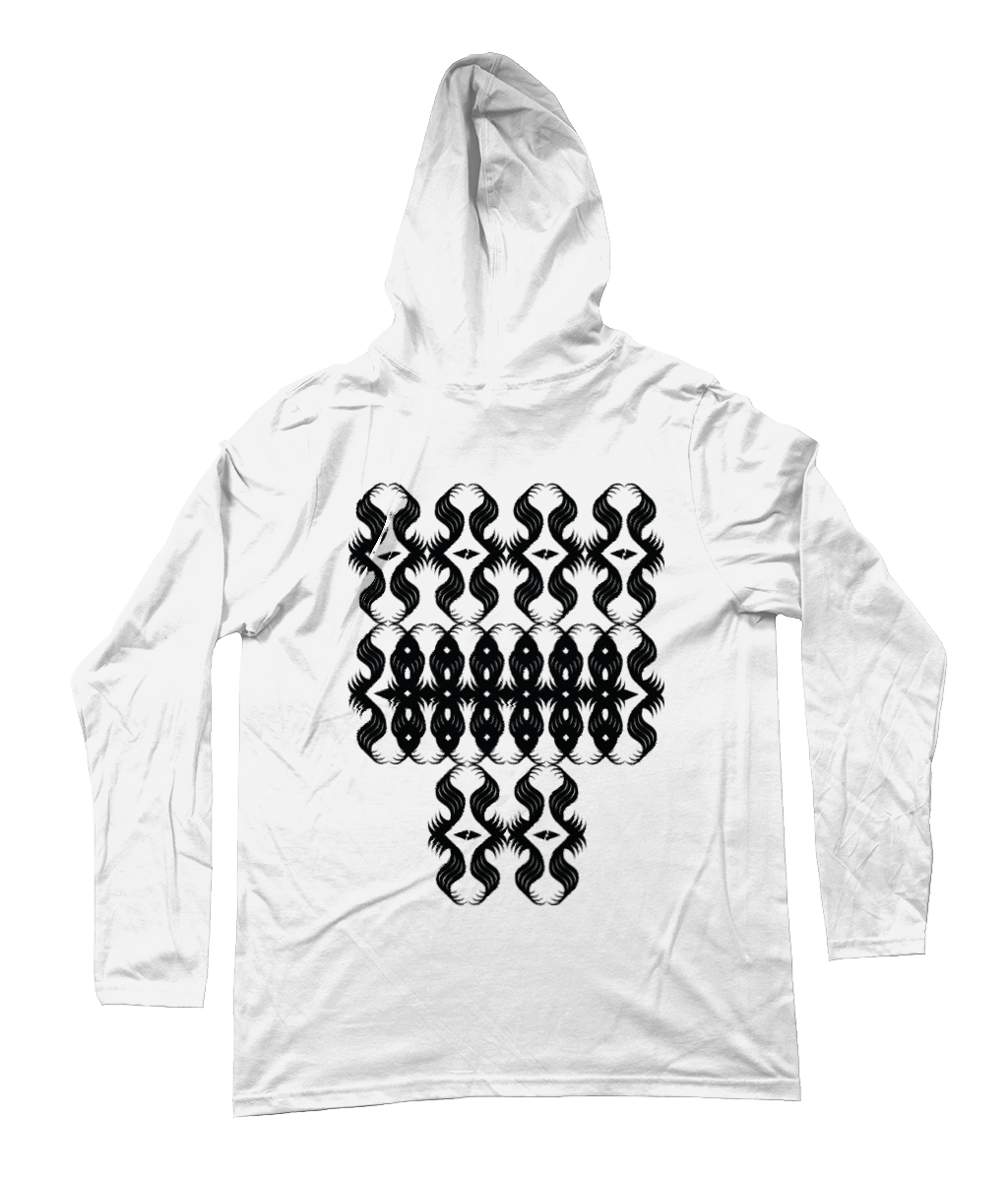 All-Seeing Eyes - Long Sleeve Hooded [Men's] T-Shirt Thumbnail