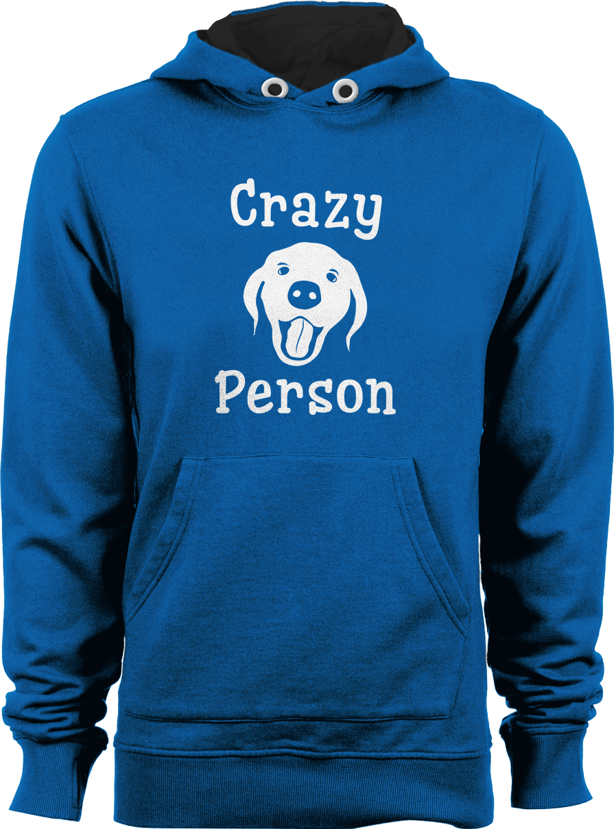 Crazy Dog Person Hoodie Thumbnail