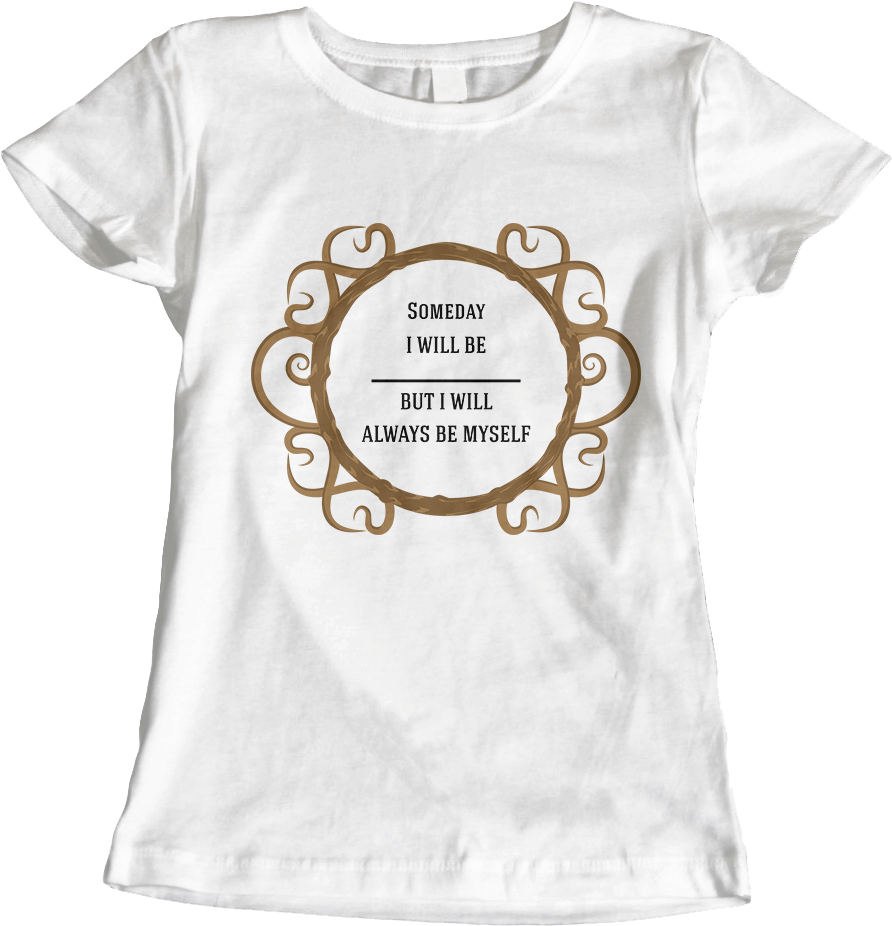 Thine Own Self - White Women's T-Shirt by Daniel Bevis