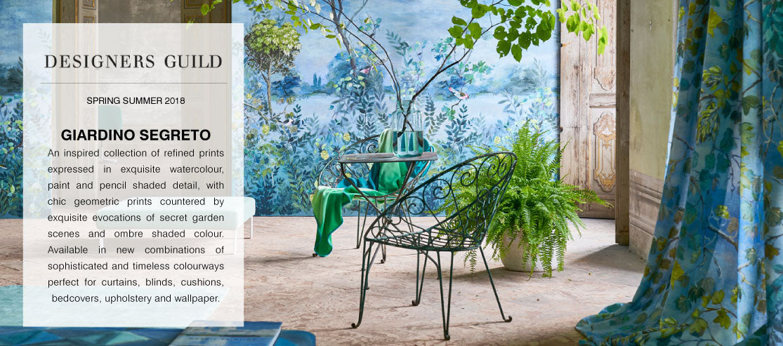 Designers Guild Fabric Wallpaper