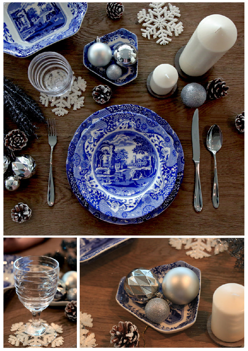Blue Christmas - Spode Blue Italian