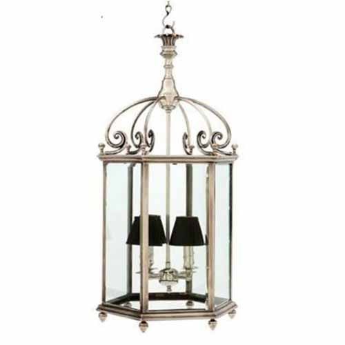 Lantern Quartier in Antique Silver