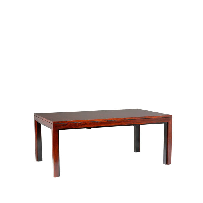 Extendable Dining Table Parkara in Cherrywood/mahogany 200(60x2)x110x76 cm