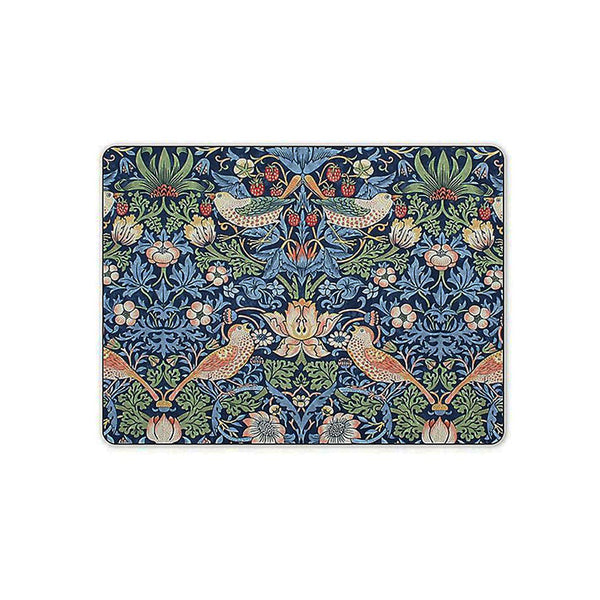 Morris and Co for Pimpernel Strawberry Thief Blue Placemats Set of 6 (s)